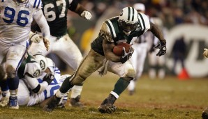 Platz 7: AFC-Wildcard-Runde, Januar 2003: New York Jets - Indianapolis Colts 41:0