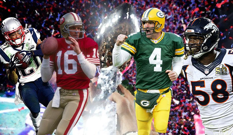 Meiste Super Bowl Siege Spieler