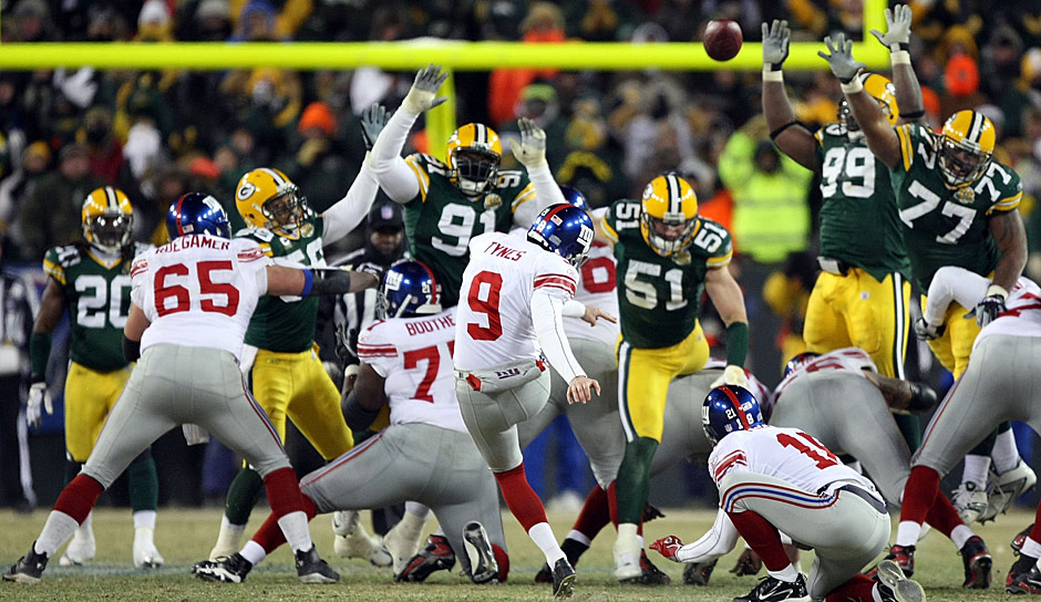2007: Green Bay Packers - New York Giants 20:23