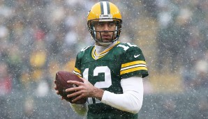 8.: Aaron Rodgers (seit 2005) - 4.458 Yards