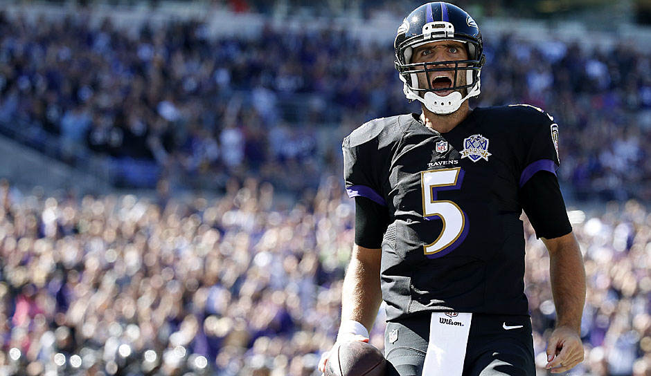 16.: Joe Flacco (seit 2008) - 3.223 Yards