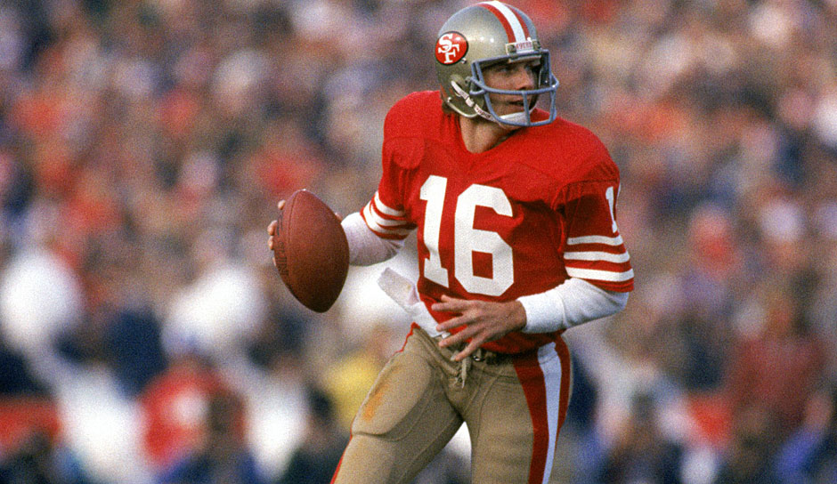 4.: Joe Montana (1979-1994) - 5.772 Yards