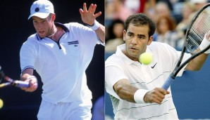 WIMBLEDON 2002, PETE SAMPRAS - GEORGE BASTL 3:6, 2:6, 6:4, 6:3, 4:6: Die Sensation war perfekt! In fünf Sätzen besiegte die Nummer 145 der Welt den siebenfachen Titelträger Sampras in Runde zwei