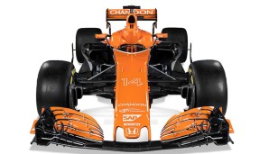Der MCL32 strahlt in Orange
