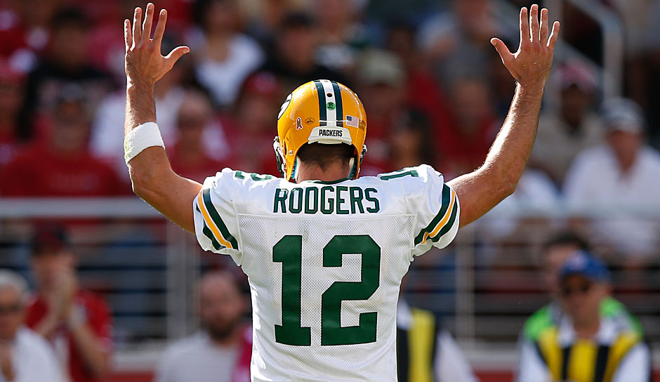 8.: Aaron Rodgers, QB, Green Bay Packers