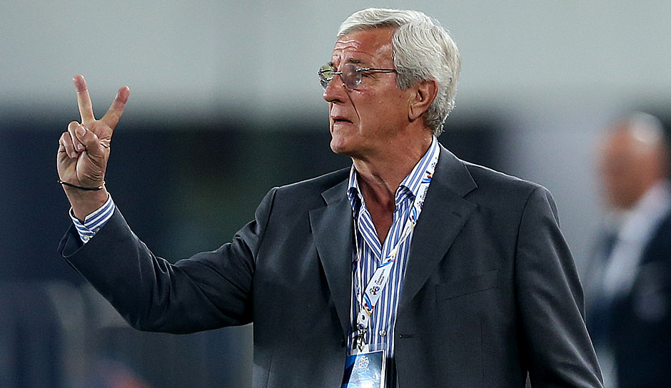 Platz 2: Marcello Lippi (China): 23,5 Millionen Euro