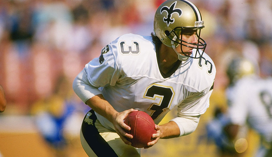 10. Bobby Hebert (1983) - 118 Spiele, 21.683 Yards, 135 TD, 124 INT (Michigan Panthers, Oakland Invaders, Saints, Falcons)