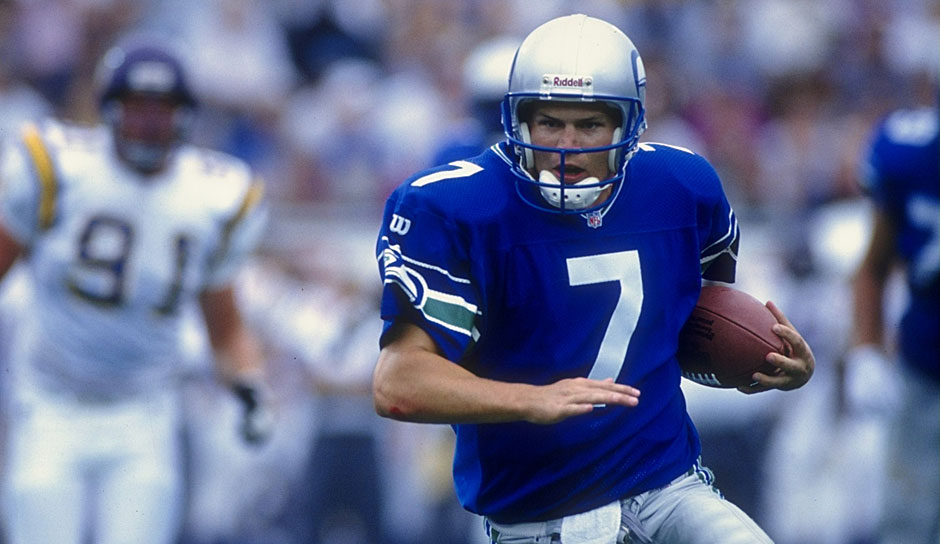 6. Jon Kitna (1996) - 141 Spiele, 29.745 Yards, 169 TD, 165 INT (Seahawks, Barcelona Dragons, Bengals, Lions, Cowboys)
