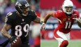 Steve Smith und Larry Fitzgerald klettern in der All-Time-Receiver-Liste weiter