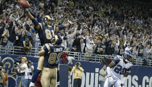 14.: Torry Holt (1999-2009): 13.382 Yards