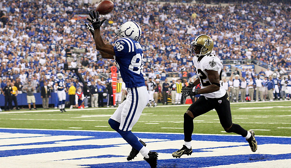 9.: Marvin Harrison (1996-2008): 14.580 Yards