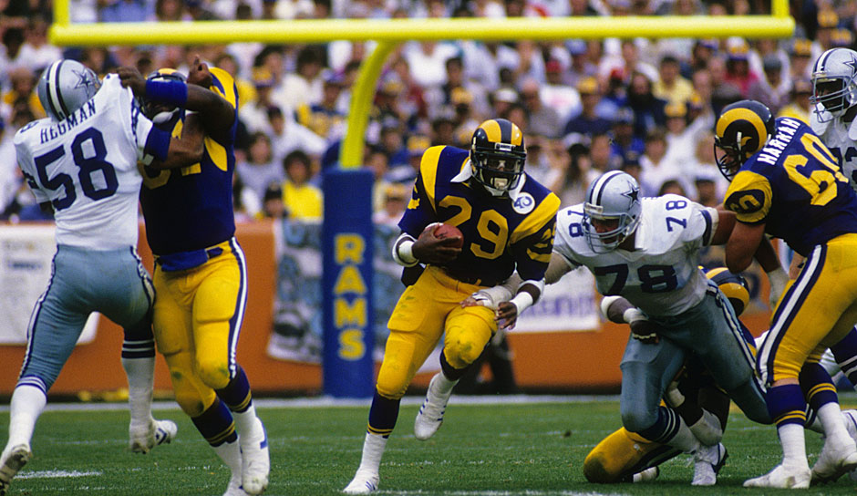 8.: Eric Dickerson (1983-1993): 13.259 Yards