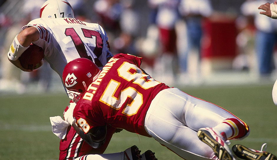 16.: Derrick Thomas (1989 - 1999): 126,5 Sacks