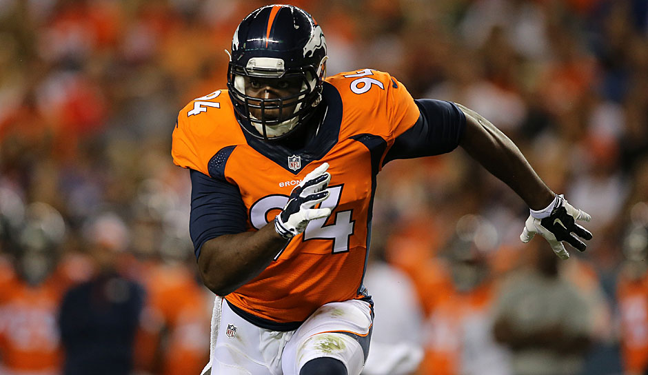 8.: DeMarcus Ware (2005 - 2016): 138,5 Sacks