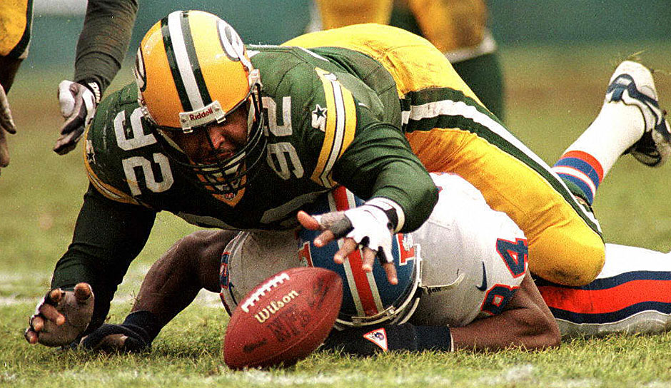 2.: Reggie White (1985 - 2000): 198 Sacks