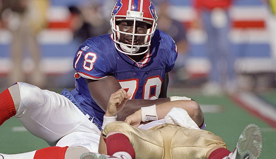 1.: Bruce Smith (1985 - 2003): 200 Sacks