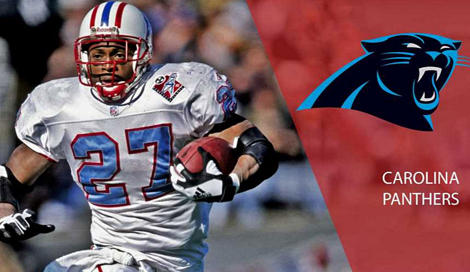 Ein Running Back sollte es 1996 für die Panthers an Nummer 8 sein und die Wahl fiel auf Tim Biakabutuka. Der verzeichnete in seiner kompletten Panthers-Karriere insgesamt 2.530 Rushing-Yards, während Eddie George (14 zu Houston) 10.441 Yards erlief