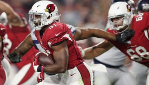 David Johnson, Arizona Cardinals (vs. San Francisco 49ers): Die Inkompetenz der Run Defense in San Francisco kennt keine Grenzen - 193 Yards pro Spiel! Johnson ist ein Must-Start
