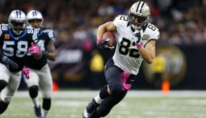 Coby Fleener, New Orleans Saints (vs. Denver Broncos): Denvers Defense gegen TEs ist solide, erst zwei Touchdowns. Außerdem wird Fleener derzeit im eigenen Team von Josh Hill überflügelt und bekommt immer weniger Snaps