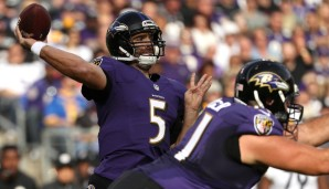 Joe Flacco, Baltimore Ravens (vs. Cleveland Browns): Is Joe Flacco elite? Hm. Ist er eine Elite-Option gegen die noch sieglosen Browns? Absolut. Zumal die Ravens daheim antreten