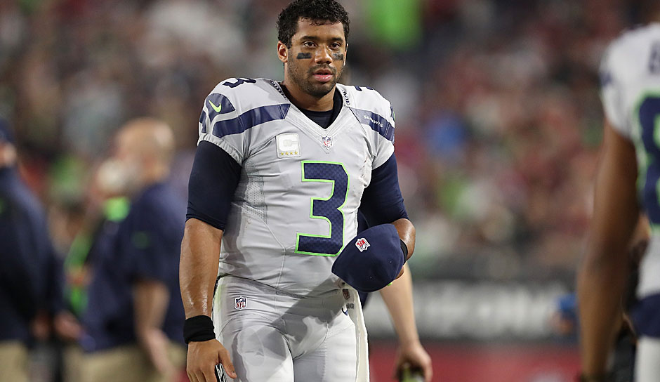 Quarterbacks, SITS: Russell Wilson, Seattle Seahawks (vs. Bills): Wilson als exklusiver Pocket Passer ist nicht so effektiv wie ein fitter Wilson. Zudem ließ die Bills-D in dieser Saison nur gegen Tom Brady mehr als einen TD-Pass zu