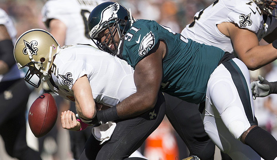 3.: Fletcher Cox, Philadelphia Eagles - 93 Overall