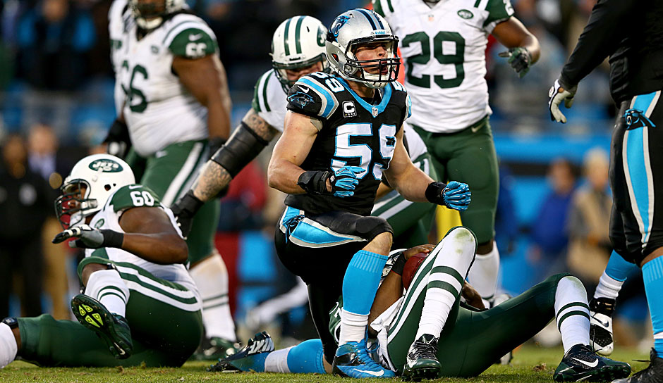 1.: Luke Kuechly, Carolina Panthers - 99 Overall