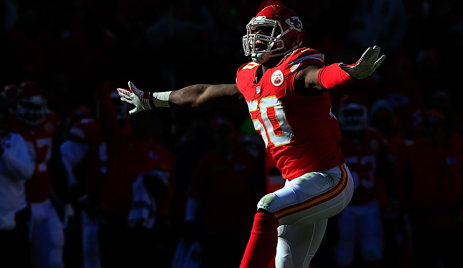 2.: Justin Houston, Kansas City Chiefs - 97 Overall