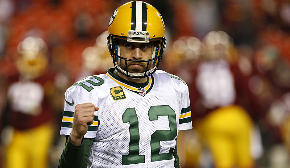 1.: Aaron Rodgers, Green Bay Packers - 96 Overall