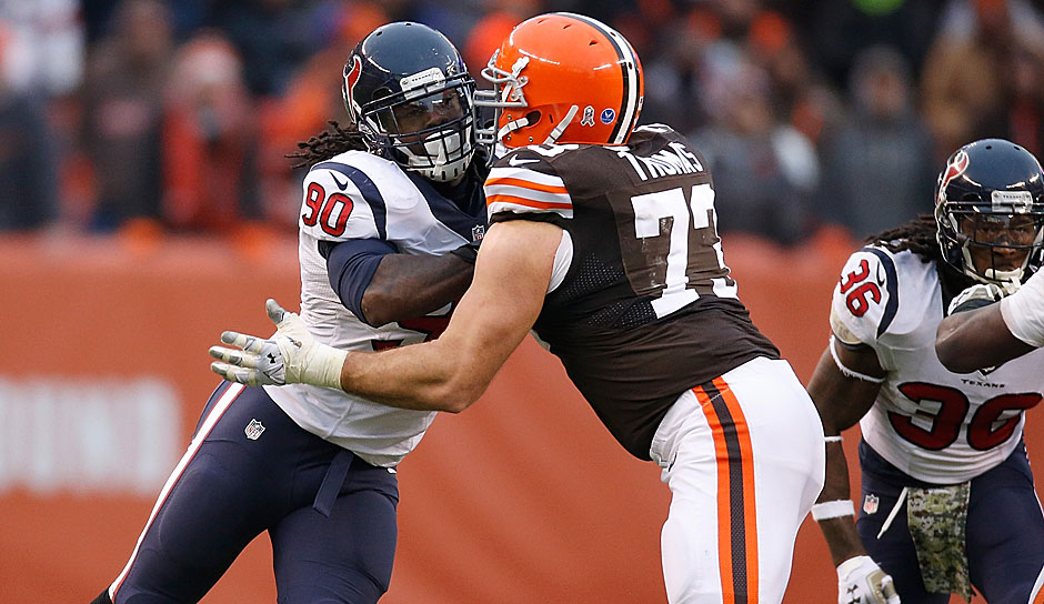 1.: Joe Thomas, T Cleveland Browns - 97 Overall
