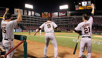 MLB 2010: Der Titel im Baseball ging in diesem Jahr nicht an einen der großen Namen. Die San Francisco Giants gewannen die World Series gegen die Texas Rangers