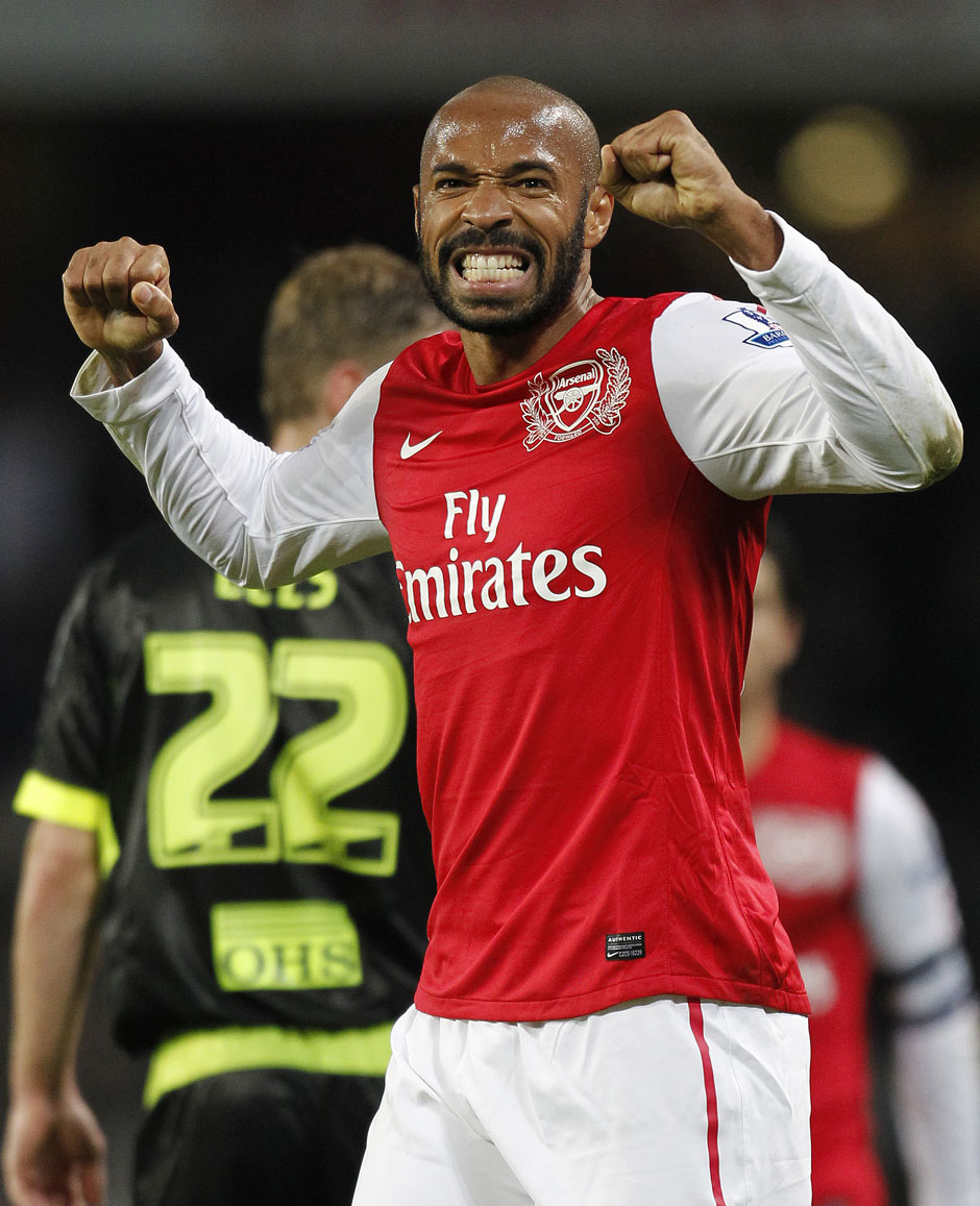 Rang 5: Thierry Henry - 51 Tore (1997 - 2012)