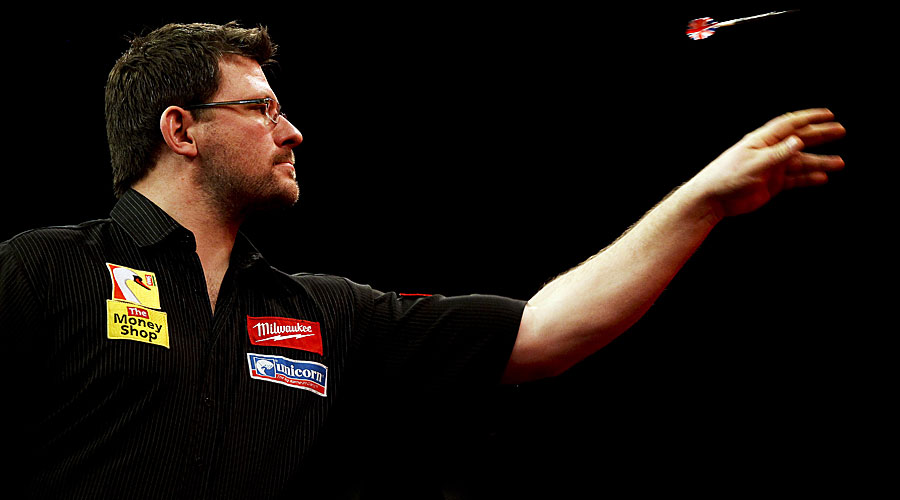 Rang 6: James Wade mit 265.000 Pfund