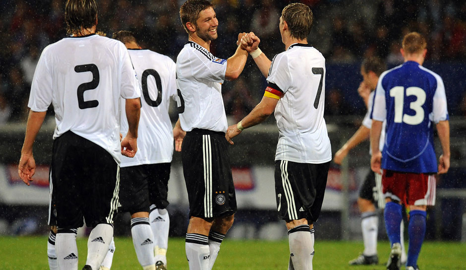 Platz 5: Liechtenstein - Deutschland 0:6, 6. September 2008