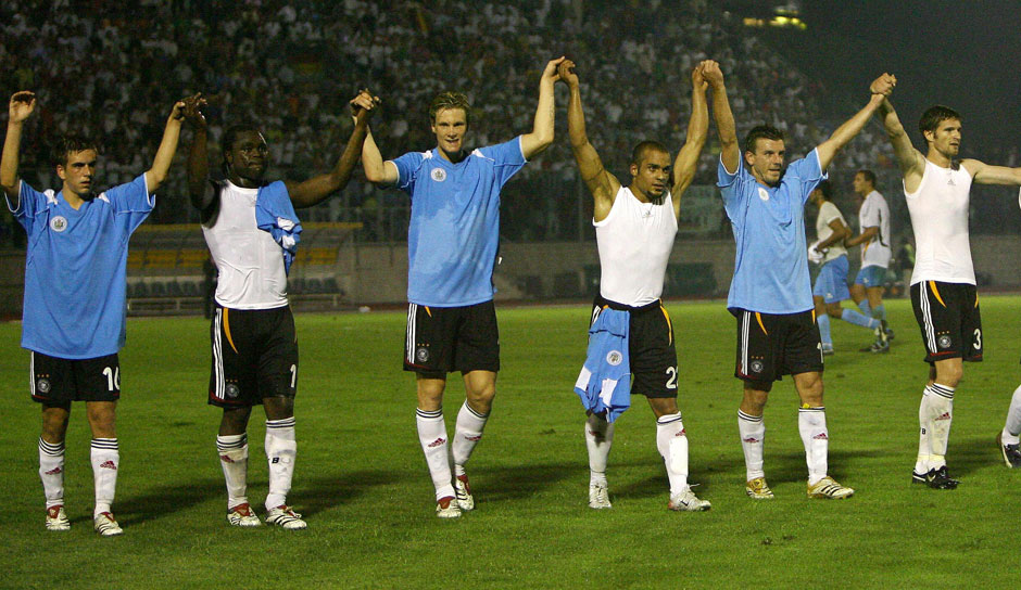 Platz 1: San Marino - Deutschland 0:13, 6. September 2006