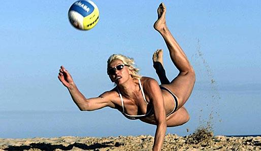 Volleyballerin Nackt