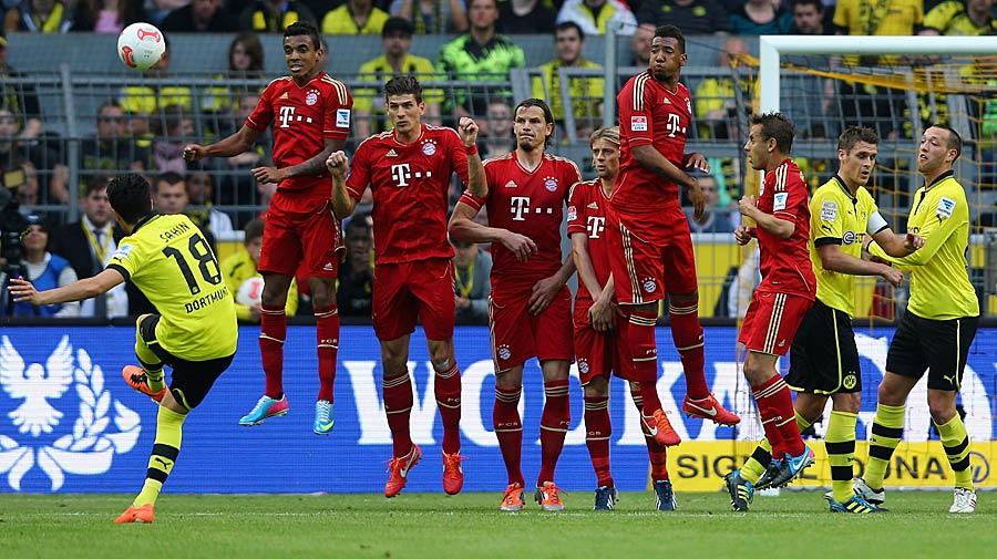 Im Anschluss starten die Dortmunder ihre eigene kleine Siegesserie. Auch im zweiten Meisterjahr gibt es für den Rekordmeister nichts zu holen