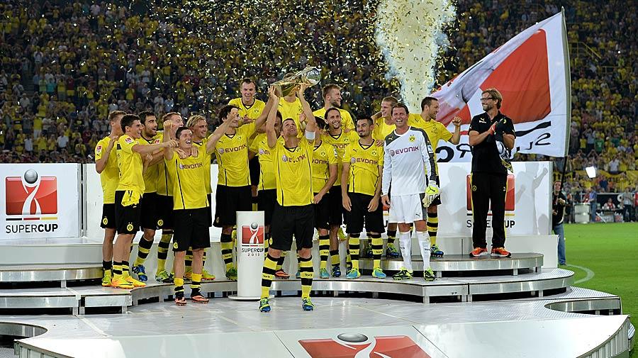 27.07.2013: Eine Niederlage, die man beim BVB nicht auf sich sitzen lässt. Den Supercup zu Beginn der Saison 2013/14 lassen sich die Borussen nicht nehmen