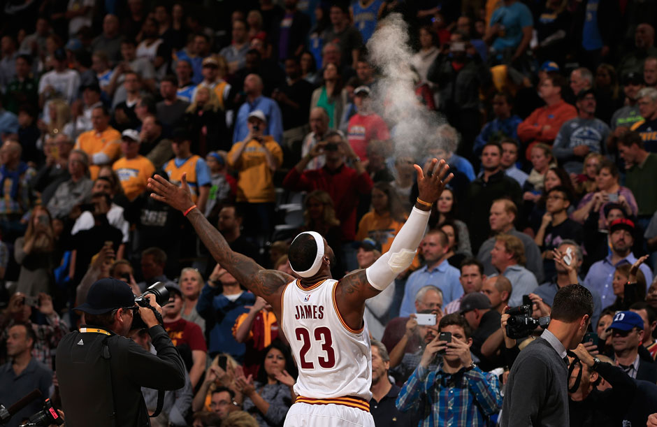 Platz 3: LeBron James, 58,3 Millionen Euro (Basketball)
