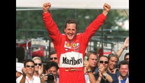 Michael Schumacher (1994,1995,2000-2004)