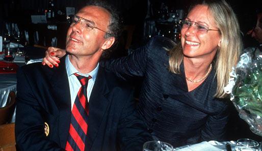 Franz Beckenbauer Sybille Beckenbauer