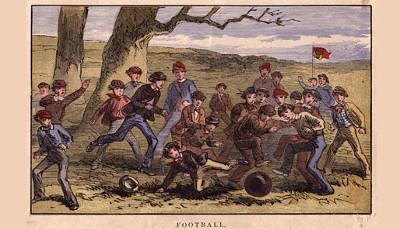 geschichte von fußball