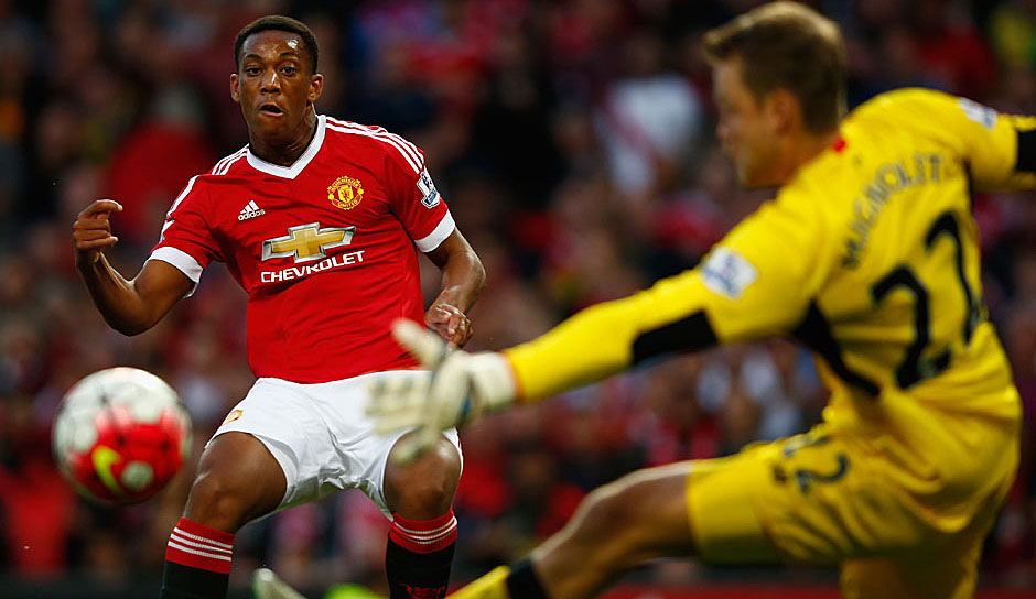 2015: Anthony Martial (Manchester United)