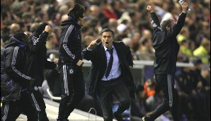 Kein normaler Trainer. Nein, er ist The Special One: Jose Mourinho!
