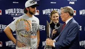 2014: San Francisco Giants (4-3 gegen Kansas City Royals). MVP: Pitcher Madison Bumgarner