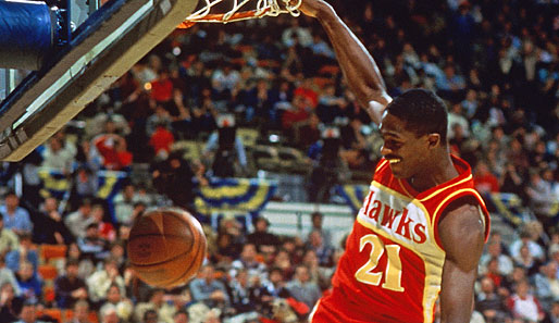 1985 in Indianapolis: Dominique Wilkins (Atlanta Hawks)