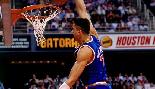 1989 in Houston: Kenny Walker (New York Knicks)