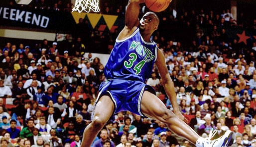 1994 in Minneapolis: Isaiah Rider (Minnesota Timberwolves)