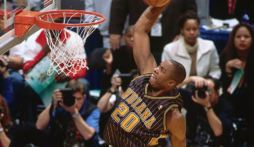2004 in Los Angeles: Fred Jones (Indiana Pacers)