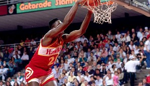 1990 in Miami: Dominique Wilkins (Atlanta Hawks)